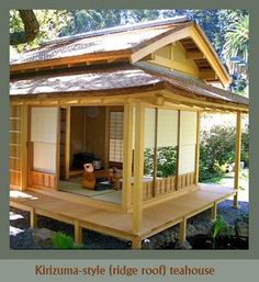 tea house architecture Its in my script for my life (yes, of course, my lifes not necessarily ing that script, but still. Japanese Style House, Traditional Japanese House, Japanese Design, Small Japanese House, Japanese Architecture, Futuristic Architecture, Architecture Design, Japanese Carpentry, Casa Loft