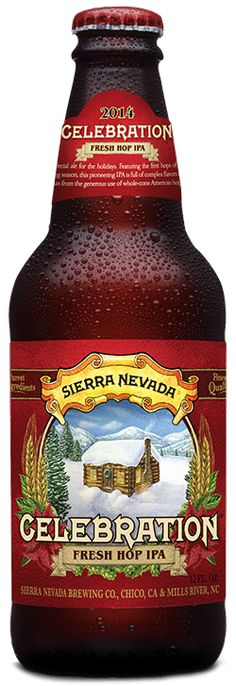 REVIEW: A winter seasonal designed for hop-heads, the 2014 Celebration Ale from Sierra Nevada continues its holiday tradition in hoppy style.