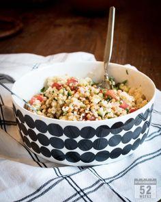 valkosipulinen linssisalaatti