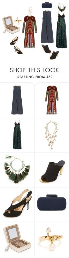 """Forever Stylish..**"" by yagna ❤ liked on Polyvore featuring By Walid, Valentino, Oscar de la Renta, Rosantica, Tory Burch, MICHAEL Michael Kors, Inge Christopher, Chloé and vintage"