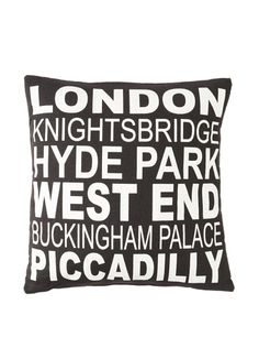 72% OFF Square Feathers City Signs London Square Pillow
