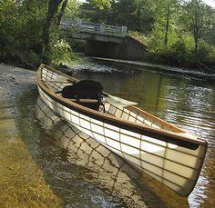 #art #カヌー #canoe #障子 (Via:Arrow14) ∑( ̄□ ̄;)ナント!!...これは斬新。障子みたい。