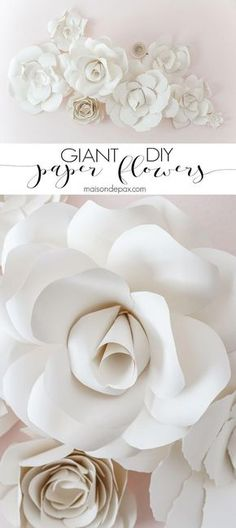 DIY Giant Flower Pap