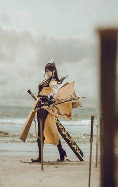 cosplay china (Cosplay of 剑网三藏剑·硕雪成女 Staff: 摄影:七味化妆:真的菜菜 后期:七味...)