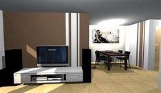 Wunderbar Wohnzimmer Streichen Ideen Streifen
