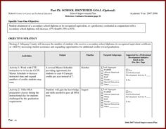 Resume Interestsaction Plan Template Word  Plan Of Action