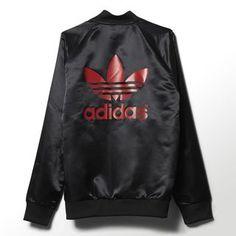 adidas - NY Satin Snap Superstar Track Jacket