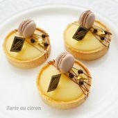 Image may contain: dessert and food Gourmet Desserts, Fancy Desserts, Sweet Desserts, Delicious Desserts, Dessert Recipes, Yummy Food, Tart Recipes, Sweet Recipes, Baking Recipes