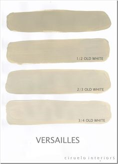 "Versailles Excellent info from Ciruelo Interiors Blog; ""Annie Sloan Chalk Paint lovers: Here is my extended colours range"" show how the colors can be mixed to achieve huge color range~"
