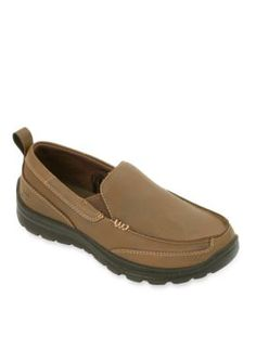 Deer Stags Brown Zesty Slip On - Boy ToddlerYouth Sizes 11 - 7