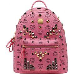 MCM Backpack New Arrival 2013 Medium Pink