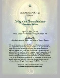 Living Our Divine Feminine: Weekend Retreat - Central PA Holistic Wellness (State College, PA) - Meetup