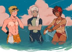 PokemonGO Team Leaders The only thing I can deduce from this is that Spark was wearing a coconut bra and got weird tan lines... i... i am OK with this