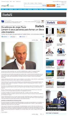 Os esforços de Jorge Paulo Lemann e seus parceiros para formar um Steve Jobs brasileiro - parte 1