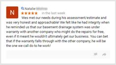 Wonderful Google review for our Senior Project Manager Wes. It's a testament to our honesty and no pressure sales policies!