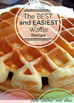 easy waffle recipe / easy waffle recipe + easy waffle recipe 3 ingredients + easy waffle recipe for two + easy waffle recipe for one + easy waffle recipe healthy + easy waffle recipe no milk + easy waffle recipe no eggs + easy waffle recipe breakfast Waffle Mix Recipes, Breakfast Waffle Recipes, Best Waffle Recipe, Breakfast Waffles, Breakfast Dishes, Baking Mix Waffle Recipe, Best Waffle Mix, Waffle Recipe Almond Milk, Pancake