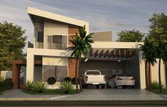 Planta de casa com cozinha integrada - Projetos de Casas, Modelos de Casas e Fachadas de Casas