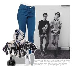 """Spending the day with Cam (boyfriend) and Nash and photographing them"" by one-direction-makes-me-strong ❤ liked on Polyvore featuring ASOS, Bernhard Willhelm, Vans, Nikon, CameronDallas and nashgrier"
