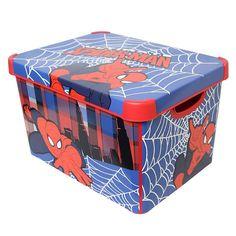 Marvel Spiderman Storage Box   Dunelm