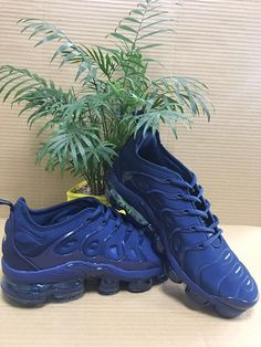 brand new b18d3 2733c 2019 Nike Air Vapormax Tn Plus Deep Blue 40-45-63667428 Whatsapp 86