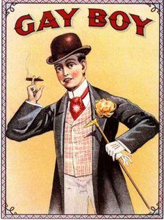 Gay Boy Tobacco(1890)