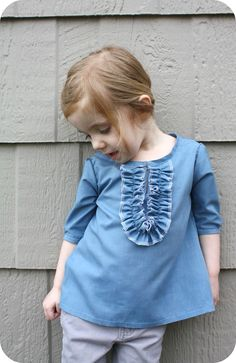 Elinor Top Tutorial from Craftiness is not Optional Blog