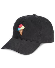 Celebrate Shop Ice Cream Embroidered Baseball Cap