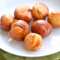 Sweet Potato Doughnuts (and doughnut holes!)