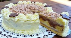 Bereniké torta Sweet Recipes, Cake Recipes, Torte Cake, Cakes And More, Cheesecake, Pie, Sweets, Cooking, Easter