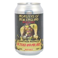Sudden Death Dr. Yeast and Mr. Haze NEIPA 0,33l Candle Jars, Candles, Shops, Brewing Co, Craft Beer, Brewery, New England, Thriller, Ale