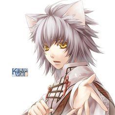 Anime boy neko<3<3<3 // OMFG WHAT ANIME/GAME OS THIS OF CREYS TOO KAWAII