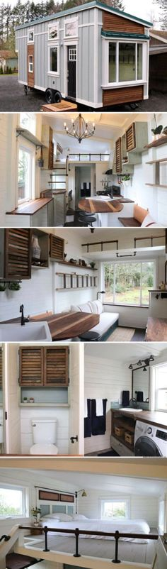 203 Best Tiny Homes And Other Ideas For Living Quarters Images On