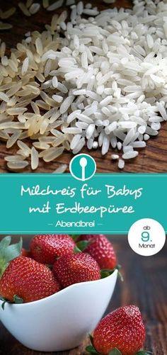 Milchreis für Babys: Tolle Alternative für Abendbrei für Babys ab dem 9. Monat