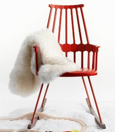 Winter Kartell Comback Rocking Chair
