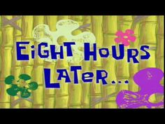 Spongebob time cards<<<your lying if u say u didn't read that in the spongebob monologued voice Spongebob Time Cards, Spongebob Episodes, Spongebob Memes, Spongebob Squarepants, Youtube Editing, Intro Youtube, Youtube Channel Art, Youtube Banners, Bad Puns
