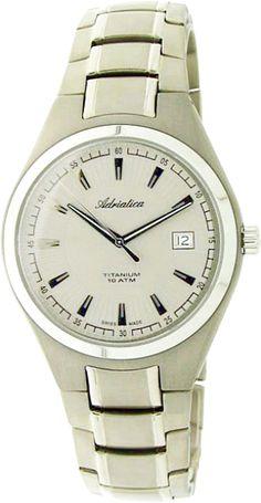 Мужские часы Adriatica A1264.1151Q Женские часы Adriatica A3211.52B3Q