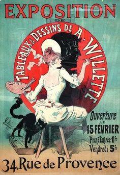 Shop Jules Cheret Exposition Art Nouveau Poster created by VintageSpot. Art Nouveau Poster, Poster Art, Retro Poster, Kunst Poster, Canvas Poster, Poster Prints, Poster Series, Art Posters, Theatre Posters