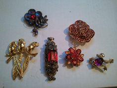 .top copper flower pendant