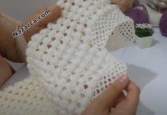 Crochet Doily Patterns, Shawl Patterns, Baby Knitting Patterns, Crochet Motif, Knitting Stitches, Crochet Doilies, Crochet Baby, Knit Crochet, Bridal Shawl