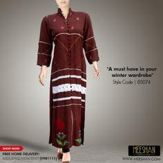 Meeshan Winter Dresses 2014 For Women