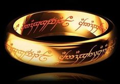 Cheap one ring, Buy Quality the one ring directly from China the ring Suppliers: Hobbit Letter Rings Black Stainless Steel the Lord One Rings Titanium Steel Men Rings