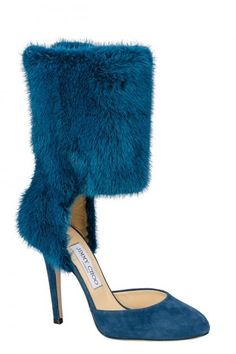 fcf746874874e Jimmy Choo fall 2013 shoes almost practical with all that warm fur (BB)