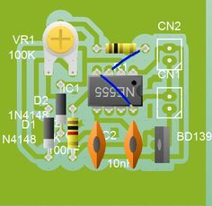 PWM that control your motor speed for brushless motor