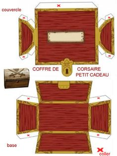 treasure box printout