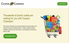 Entfernen Coupon Champions Ads