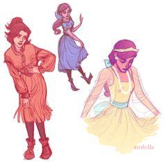 Anastasia~ not Disney, but I don't care.