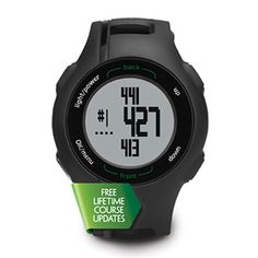 Garmin Approach® S1 measures individual golf shot distance.