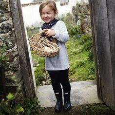 The CUTEST little girl!!