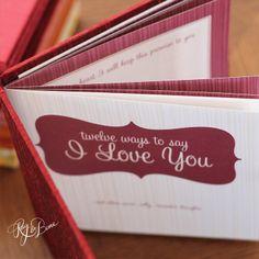 Twelve Ways To Say I Love You from Rag & Bone! So cute.
