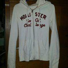 Selling this Hollister zip up sweatshirt in my Poshmark closet! My username is: bsnail. #shopmycloset #poshmark #fashion #shopping #style #forsale #Hollister #Tops